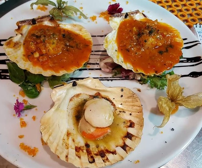 Pescados y mariscos: Nuestra cocina de Bar Sopa