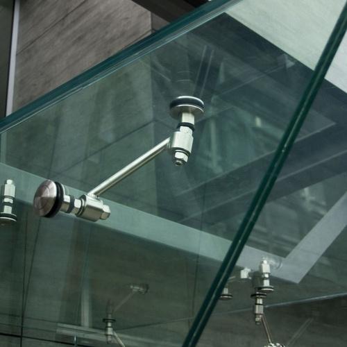 Techo de cristal de acceso a vivienda