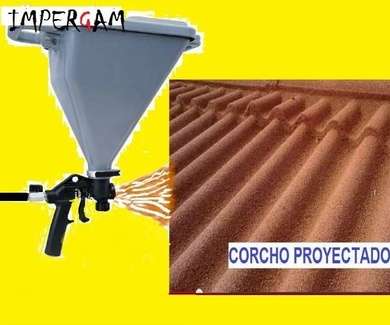 Corcho Proyectado