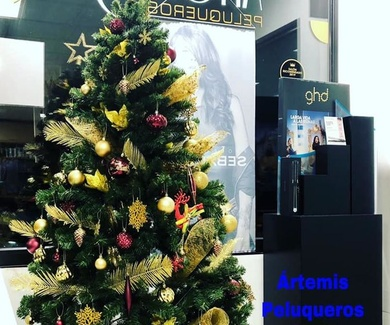 La Navidad ya ha llegado en Ártemis Peluqueros!!