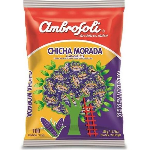 Caramelos de chicha morada 100 unidades: PRODUCTOS de La Cabaña 5 continentes