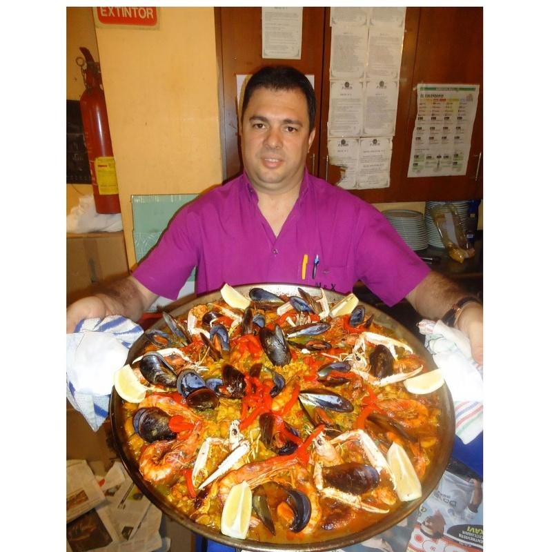 Paella de Marisco: Productos y servicios de A'Cañota