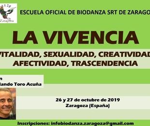 Módulo de Formación 'La Vivencia' con Rolando Toro Acuña