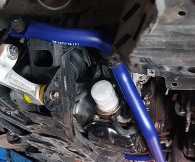 Nissan 350Z - Estabilizadoras H&R