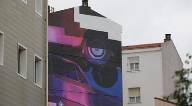 Bilbao organiza visitas a los murales artísticos pintados en las fachadas