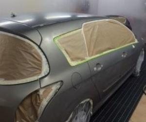 Servicio de pintura del automóvil en Huelva