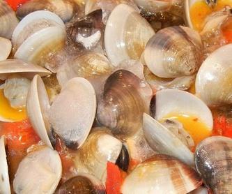 Especialidad en mariscos: Nuestra carta de Marucho