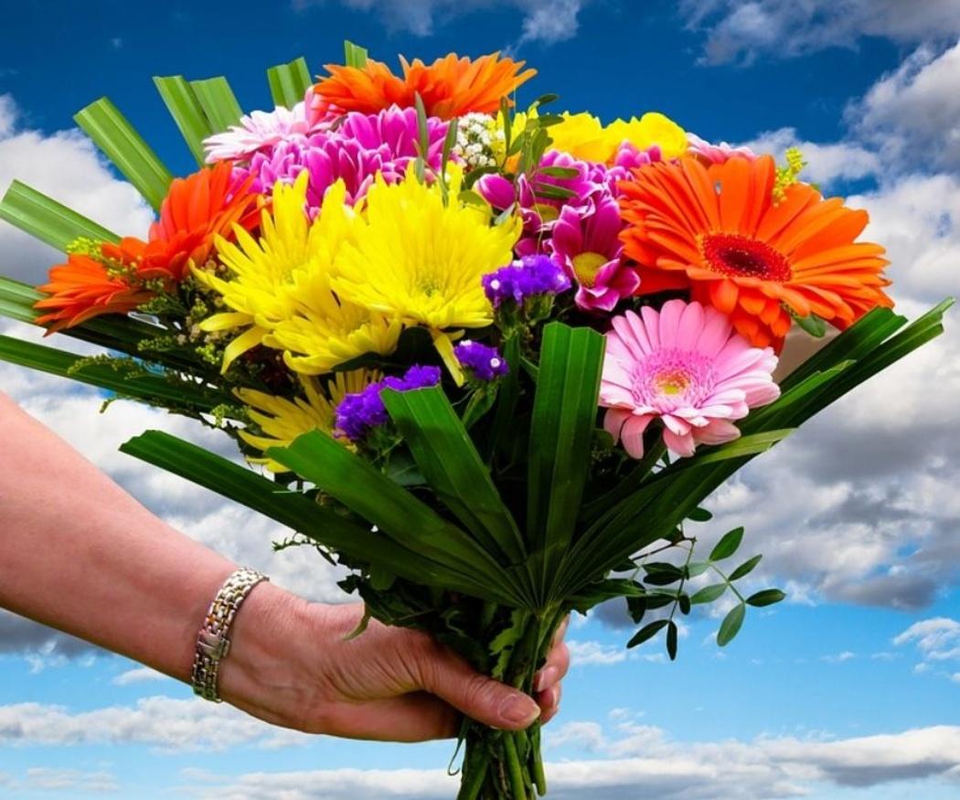 Las flores para cumpleaños