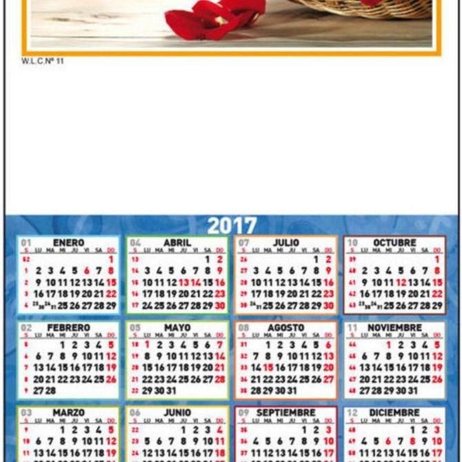 Doce días de fiesta en el calendario laboral de 2017