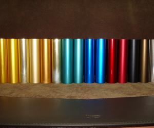 El Anodizado y sus colores