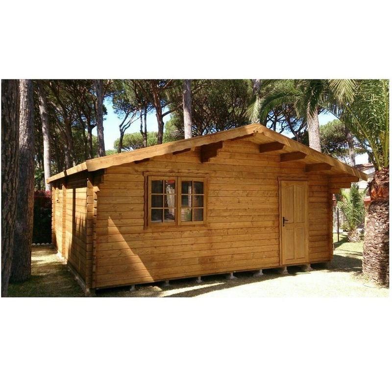 Montana (36 m2): Casas de madera de 5SCC Casas de Madera