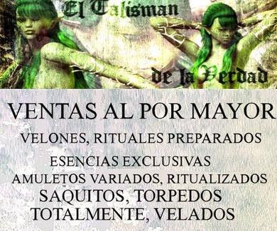 ***VENTAS AL POR MAYOR EN ELTALISMANDELAVERDAD.COM