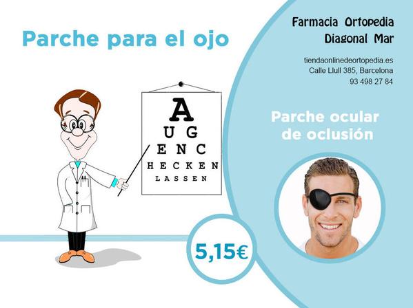 Parche para el ojo Barcelona