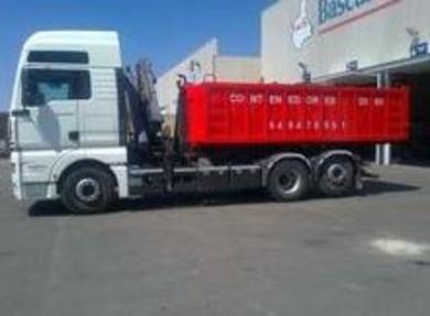 Servicio de contenedor mas retirada de enseres si usted no puede realizarlo en Murcia