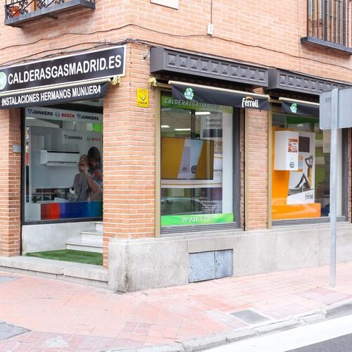 Instalación de calderas en Alcobendas | Instalaciones Hermanos Munuera