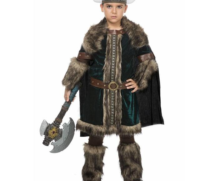 Disfraz vikingo de lujo