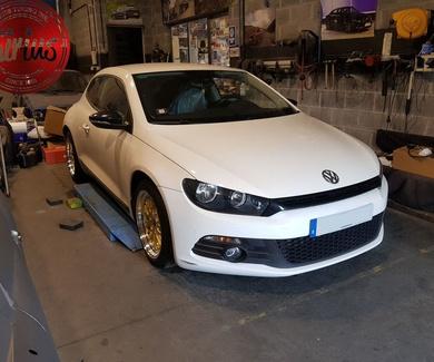 VW Scirocco - Eibach + JR10