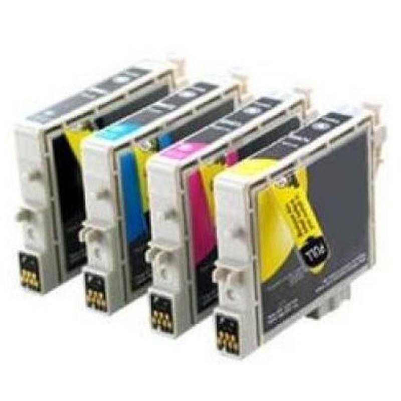 TINTA EPSON COMP ET0611 BLACK/612CYAN/613/MAGENTA/614AMARILLO : Productos y Servicios de Stylepc