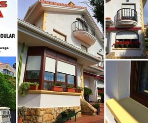 Reforma de fachadas en Santander revestimiento de corcho