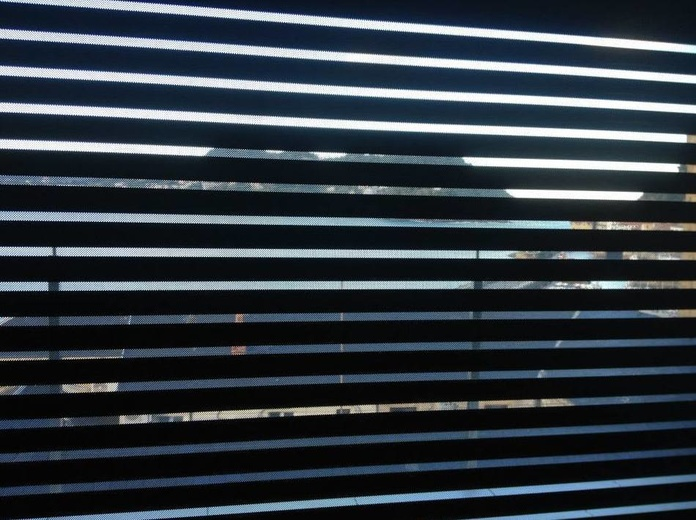 Persianas con ventilación y visibilidad junto al Ayuntamiento de Donosti