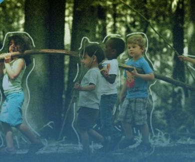Conectar con la naturaleza hace más felices a los niños (está comprobado)