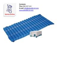 Colchón antiescaras de tubos de aire