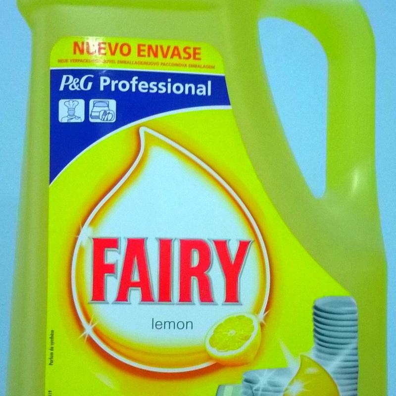 FAIRY Limón manual 5L. : SERVICIOS  Y PRODUCTOS de Neteges Louzado, S.L.
