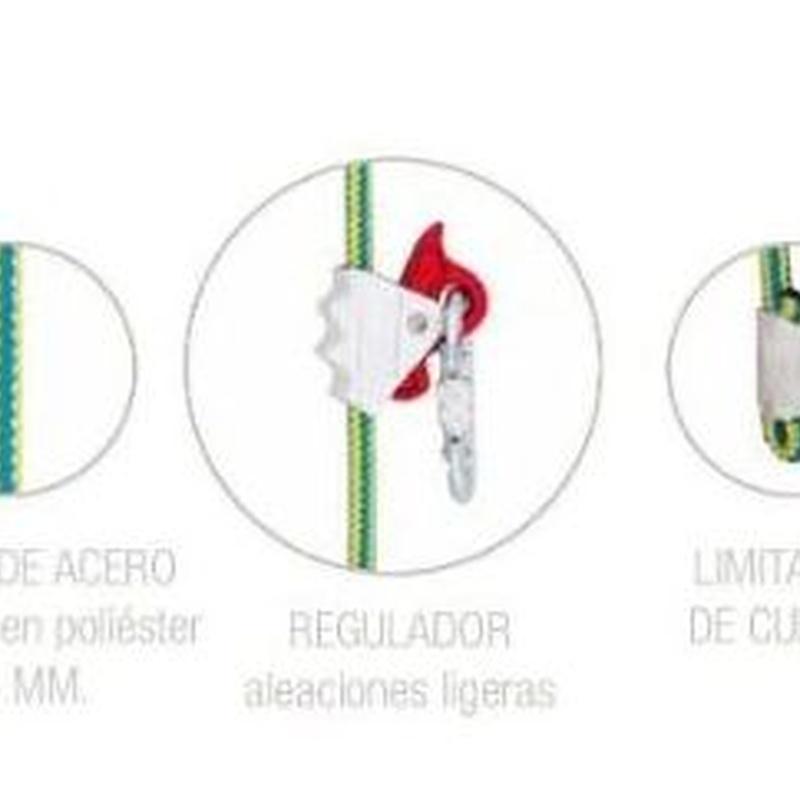 EQUIPO PARA SUJECIÓN PROT 30 - 4 METROS   Código: AF1604: Productos y servicios de Maquiagri