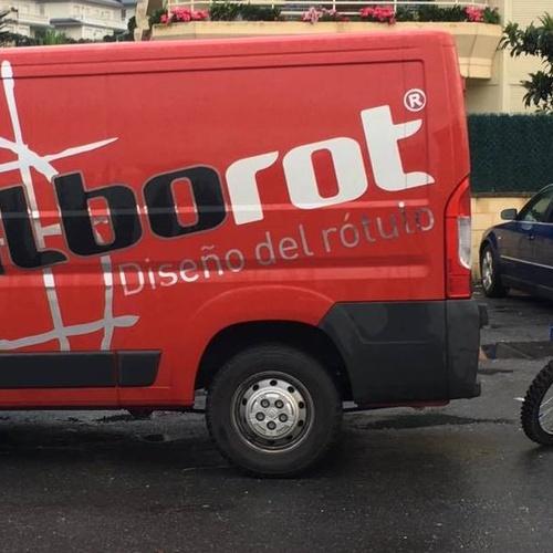 Rotulación de furgonetas en Bilbao