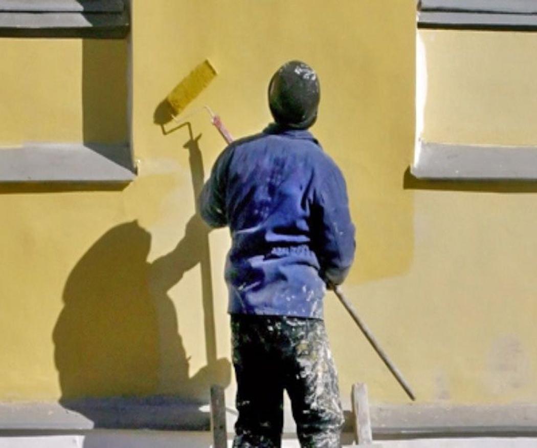 Pasos para pintar una fachada