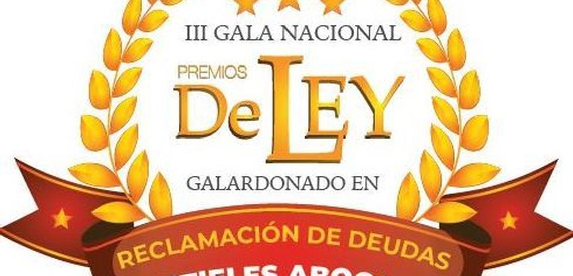 Premio Reclamación Deudas a Mustieles Abogados, expertos en cobro de mororos en Valencia
