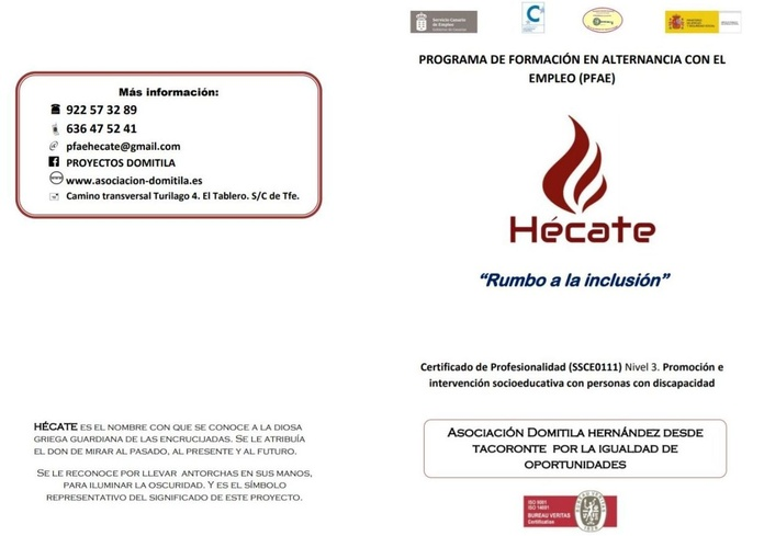 Hécate: Proyectos y Servicios de Asociación Domitila