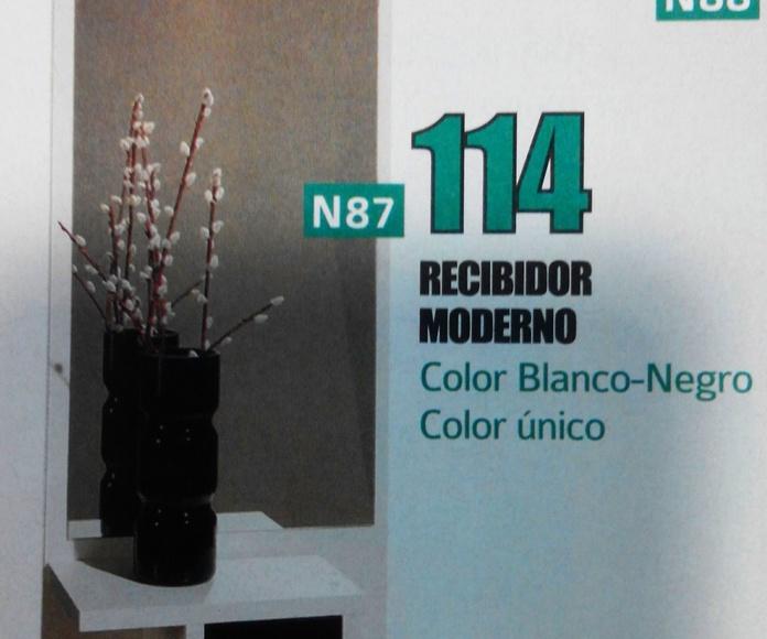 Recibidor mod.87: Productos  de Muebles Llueca, S. L.