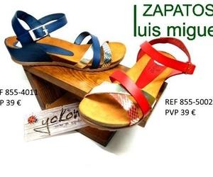 Galería de venta de zapatos de señora y niños en piel en Alcorcón | Zapatos Luis Miguel