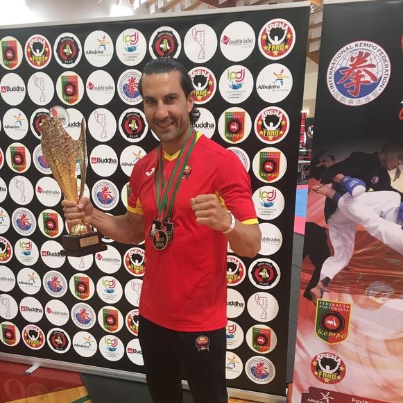 Angel Ruiz Campeón Mundial de Kenpo 2017