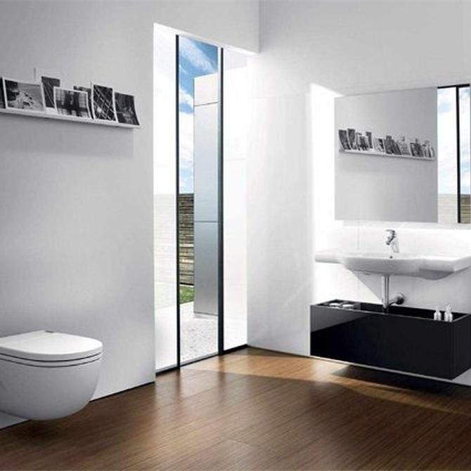 Baños más espaciosos con cisternas empotradas