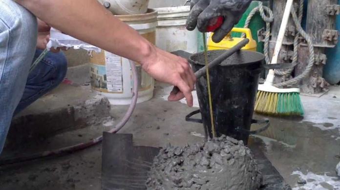 Hormigón con fibras