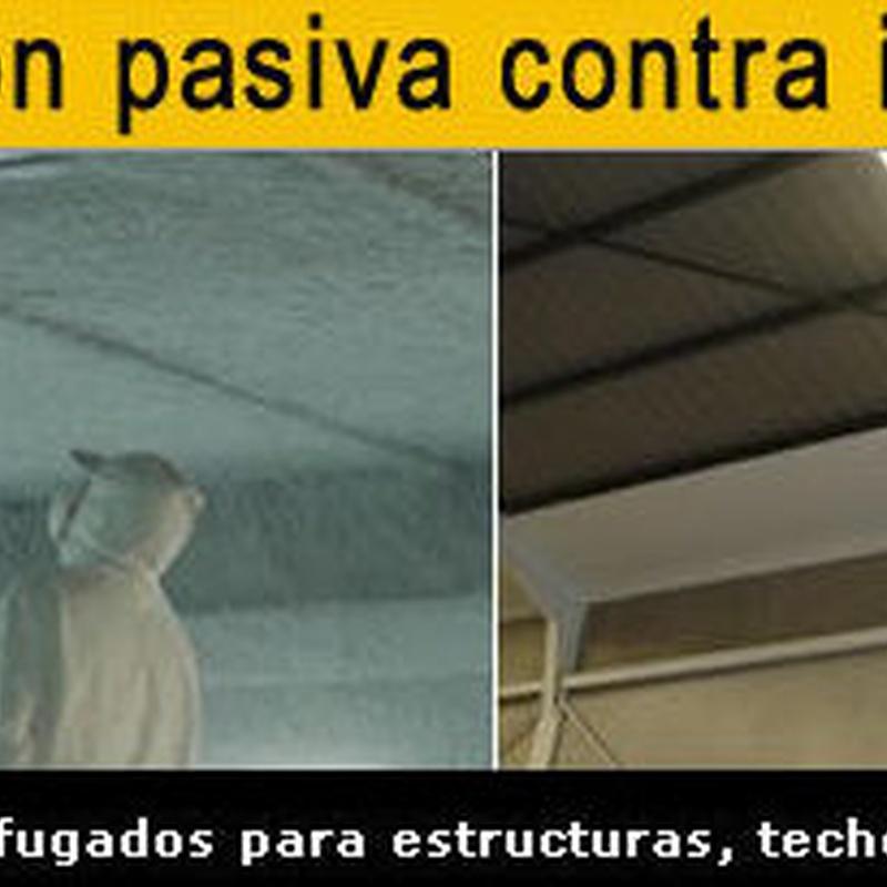 Protección pasiva: Servicios contra incendios de Sistemas contra incendios Madrid