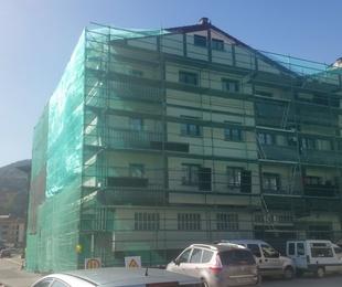 Tejado y fachadas