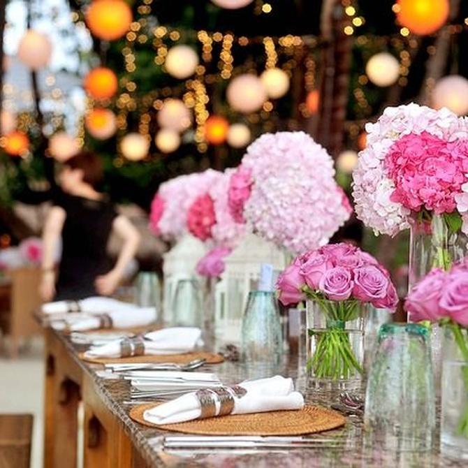 Centros de mesa ideales para tus celebraciones