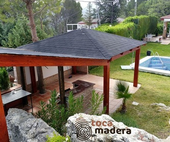 Porches de madera: Productos y materiales de Toca Madera