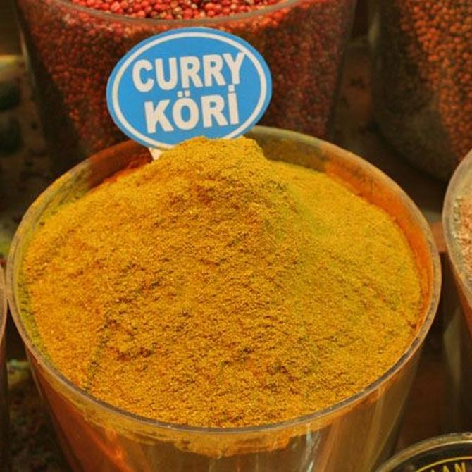 Los tipos de curry más usados en la cocina