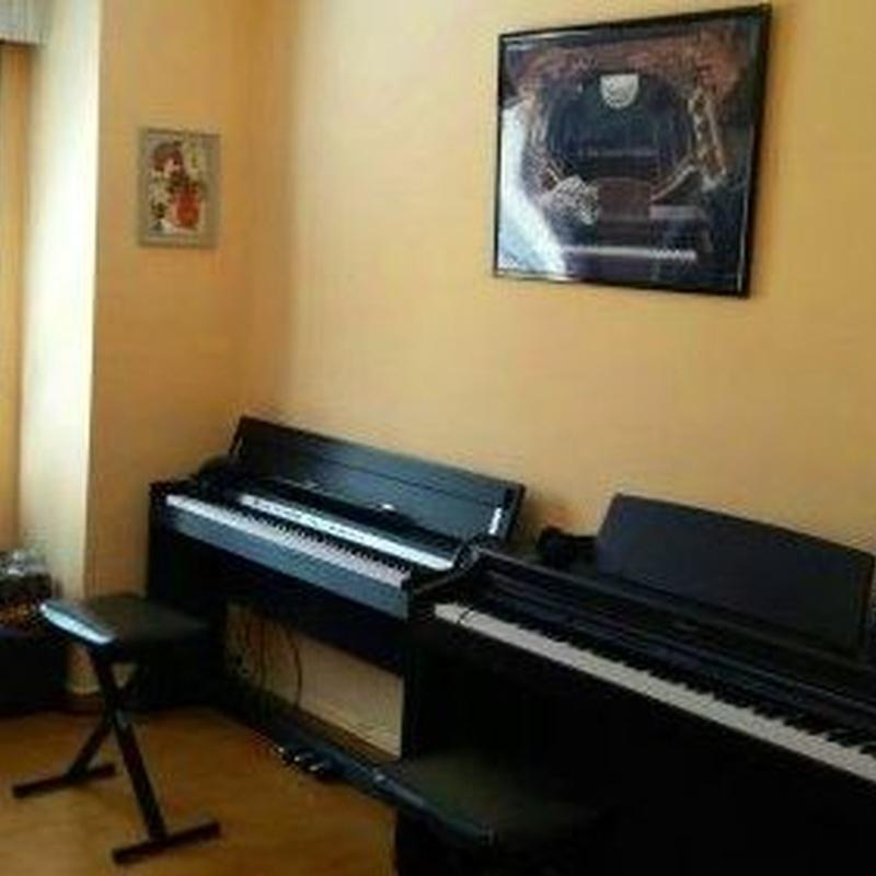 Una de nuestras aulas de piano
