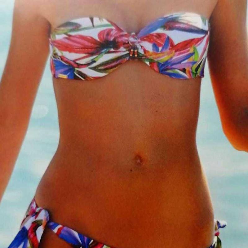 Bikini Floral: Catálogo de Manuela Lencería