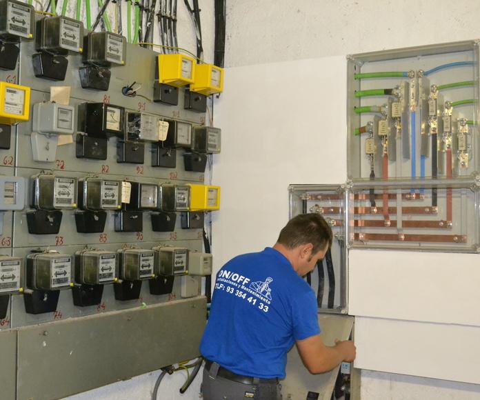Renovación redes eléctricas en comunidades en Barcelona