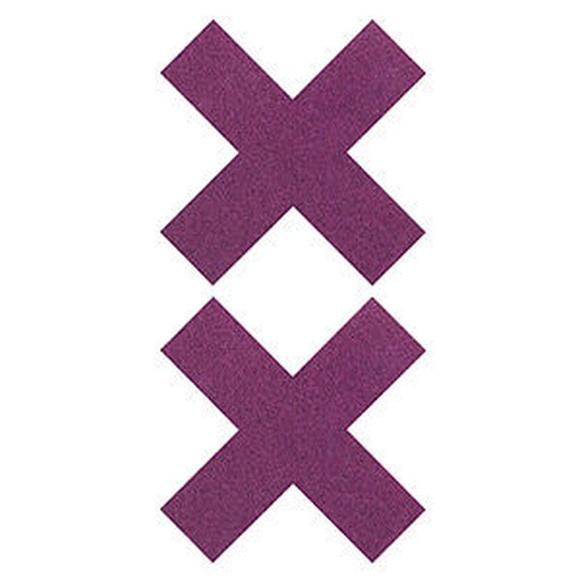 Pezoneras forma cruz : Tienda Erótica Mistery de Tienda Erótica Mistery