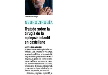 Artículo en el periódico Diario médico