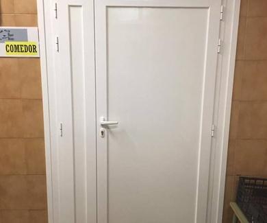 Puertas en lacado blanco