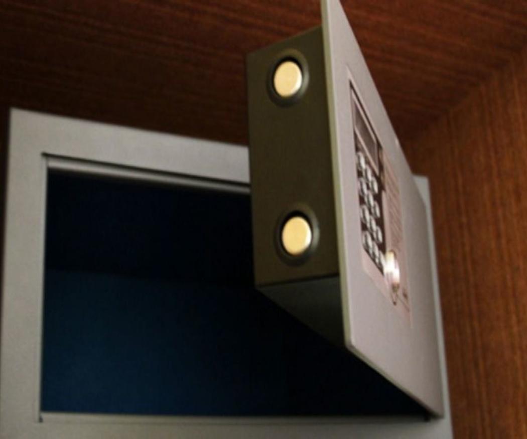 ¿Es recomendable ocultar la caja fuerte?