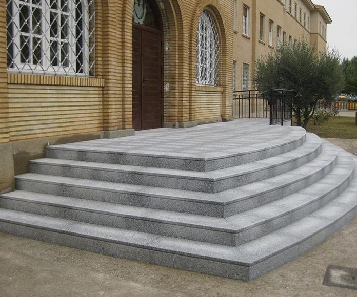 escaleras de granito Zaragoza